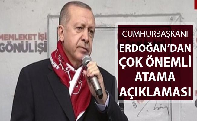 Cumhurbaşkanı Erdoğan'dan Çok Önemli 20 Bin Atama Açıklaması