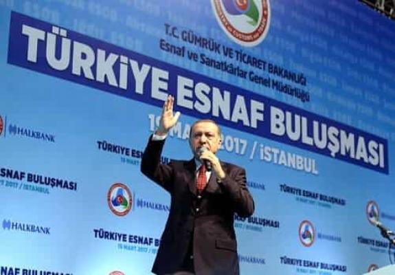 Cumhurbaşkanı Erdoğan, Türkiye Esnaf Buluşması'nda konuştu