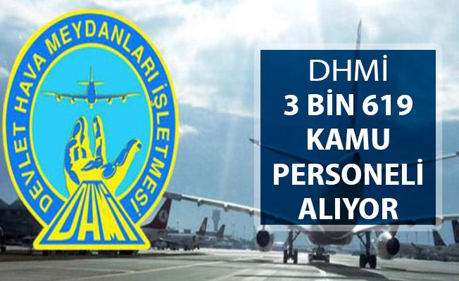 DHMİ 3 Bin 619 Kamu Personeli Alımı ! Kimler Başvuru Yapabilir?