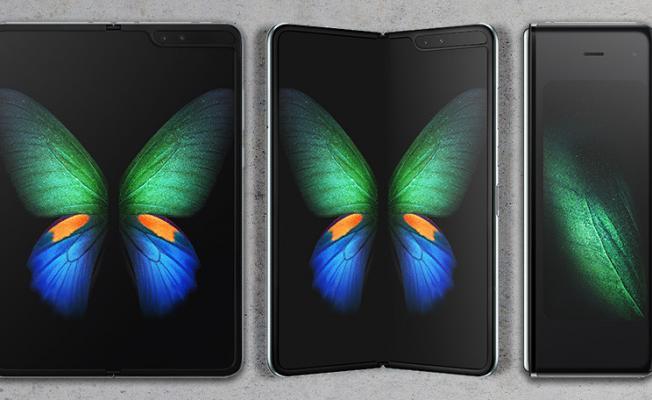 En yetenekli kamera katlanabilir ekranlı Samsung Galaxy Fold'da buluştu