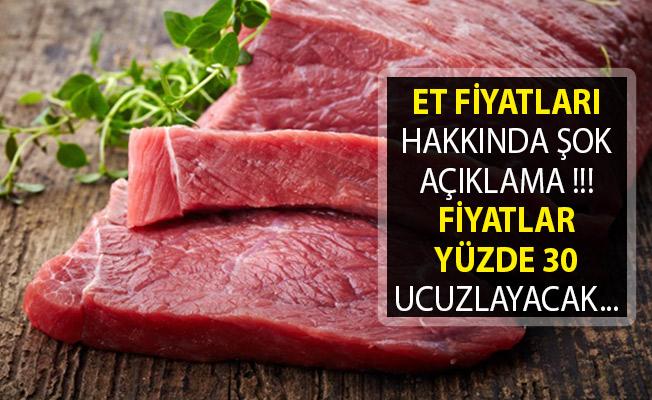 Et Üreticileri Tanzim Kurmak İçin Cumhurbaşkanı Erdoğan'dan Randevu İstedi! Fiyatlar Yüzde 30 Ucuzlayacak