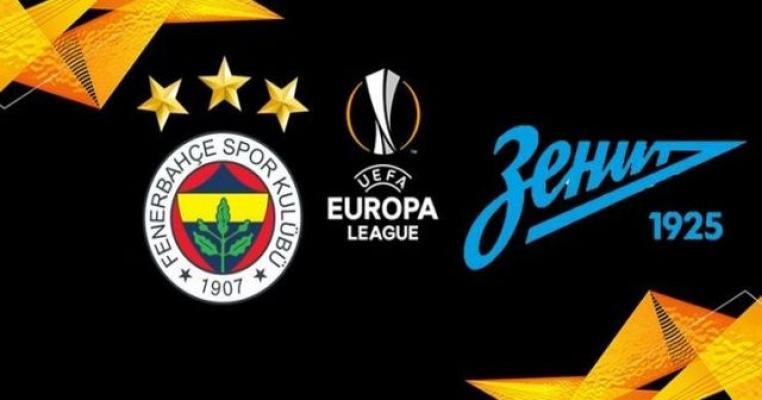 Fenerbahçe- Zenit Maçı Kaç Kaç? Fenerbahçe- Zenit Maç Sonucu!