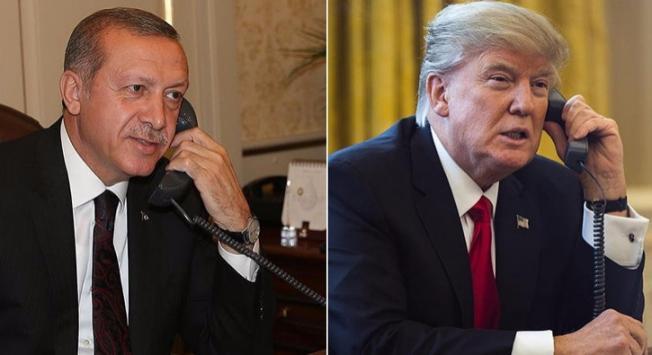 Gece Yarısı Flaş Görüşme! Cumhurbaşkanı Erdoğan, Trump'la Telefon Konuşması Gerçekleştirdi