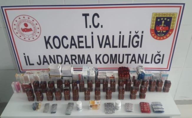 GÜNCELLEME - Kocaeli'de 7 bin 253 uyuşturucu hap ele geçirildi