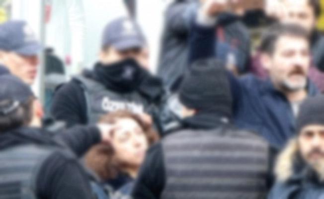 HDP'li Vekil Kadın, Polis Memurunun Kolunu Isırdı!