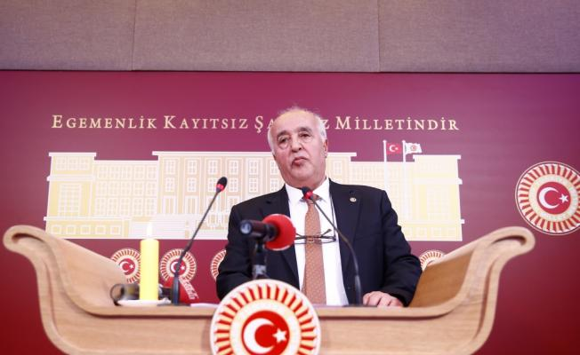 HDP Milletvekili Zeynel Özen Mecliste