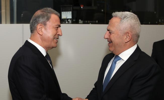 Hulusi Akar, Yunanistan Savunma Bakanı ile görüştü