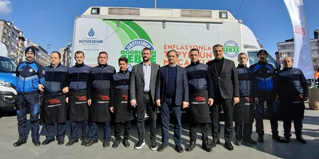 İstanbul'da 34 İlçe 50 Noktada Meyve ve Sebze Tanzim Satışı Yapılacak