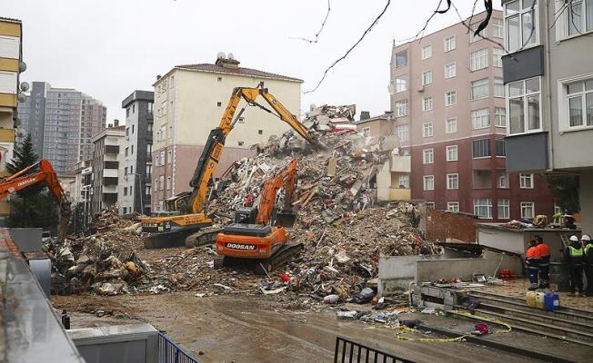 İstanbul Kartal'daki Riskli Binaların Yıkımı Tamamlandı
