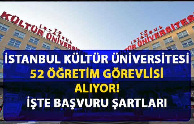 İstanbul Kültür Üniversitesi öğretim görevlisi alıyor! Son başvuru 11 Mart