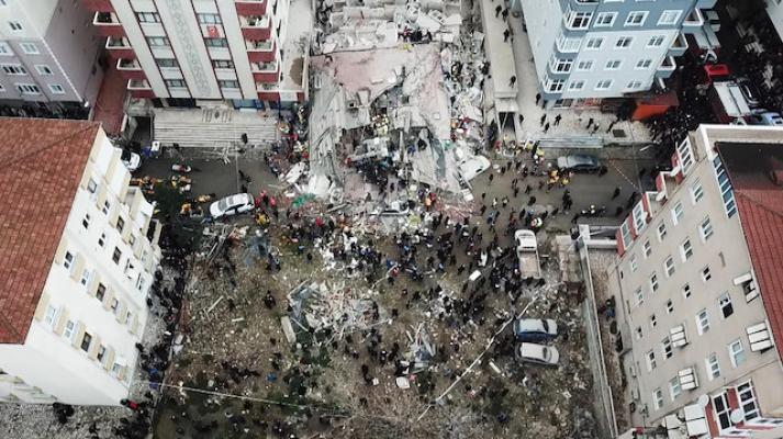 Kartal'daki çöken binada acı haberler ile ilgili görsel sonucu