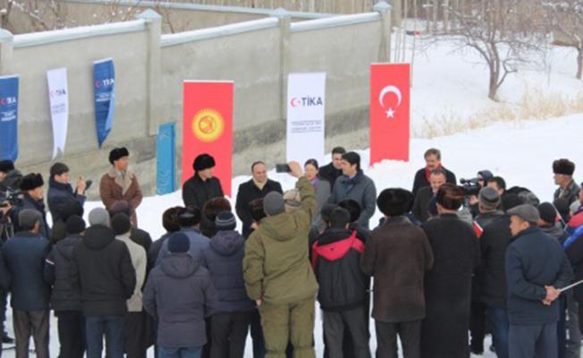 Kırgızistan'da su sorununa TİKA desteği