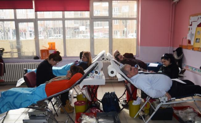 Kütahya'da kan ve kök hücre bağışı kampanyası