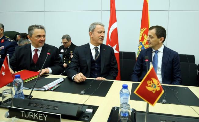 Milli Savunma Bakanı Akar, Belçika'da