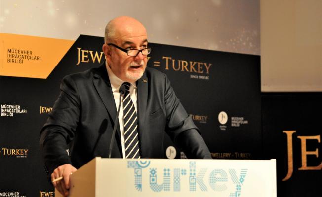 'Mücevher ihracat hacminin artması, altınla ticaretin serbest bırakılmasından geçer'