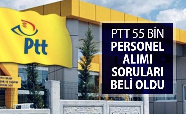 PTT 55 Bin Personel Alımı İçin Sınav Soruları Belli Oldu