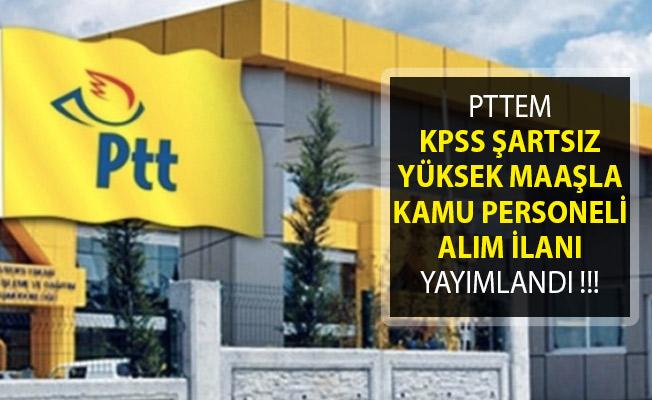 PTT 5 Bin TL Maaşla KPSS Şartsız Personel Alımı Başvuru Ekranı !
