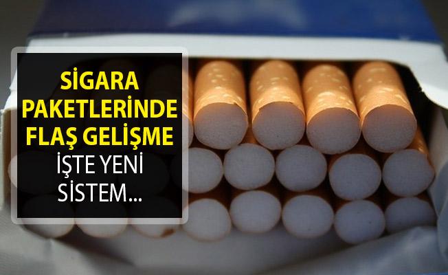 Sigara Paketleri Hakkında Flaş Gelişme! İşte Yeni Sistem