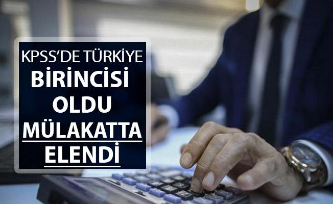 Şok Olay: KPSS'de Türkiye Birincisi Oldu ! Mülakatta Elendi