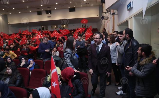 Spor Bakanı Kasapoğlu, Genç İstihdam Ofisi açacaklarını duyurdu