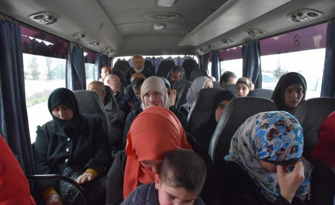 Suriye'de alıkonulanlar eş zamanlı serbest bırakıldı