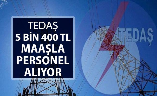 TEDAŞ 5 Bin 400 TL Maaşla Kamu Personeli Alımı Yapıyor !