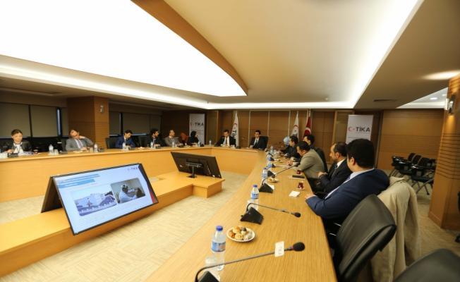 TİKA ve Dışişleri Bakanlığından Cezayir ve Yemen diplomatlarına eğitim