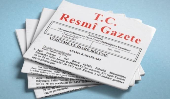 12 Mart 2019 Tarihli Resmi Gazete Yayımlandı- Resmi Gazete'de Neler Var?