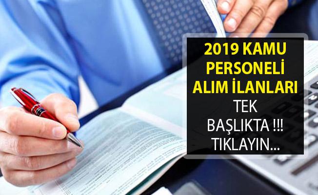 2019 Kamu Personeli Alım İlanları- Devlet Personel Başkanlığı 2019