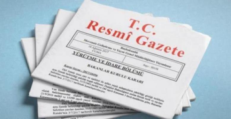 27 Mart 2019 Tarihli Resmi Gazete Yayımlandı- Resmi Gazete'de Neler Var?