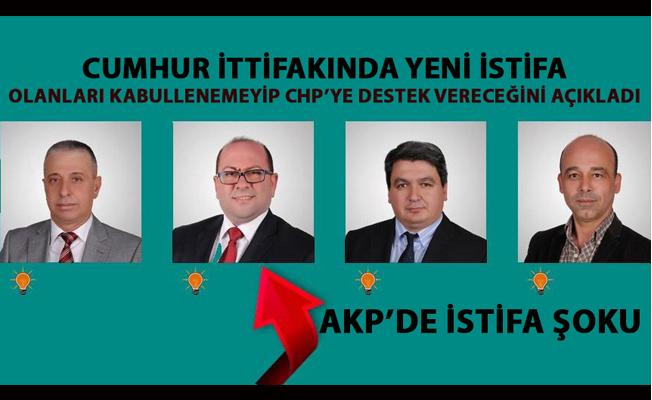 AKP'li meclis üyesi Nihat Sönmez partisinden istifa edip CHP için çalışacağını söyledi