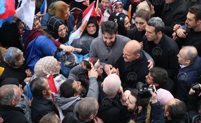 Belediye meclis üyelerinde PKK taşeronluğunu yapanlar var! Bakan Soylu Trabzon'da konuştu