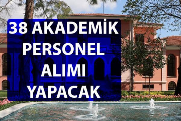 Bezmiâlem Vakıf Üniversitesi akademik personel alımı yapacağını duyurdu