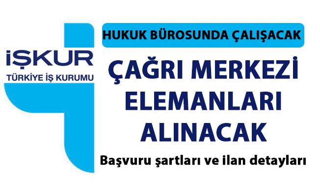 Çağrı Merkezi elemanı iş ilanları! İŞKUR tarafından İstanbul'da Çağrı merkezi müşteri temsilcisi aranmaktadır!..