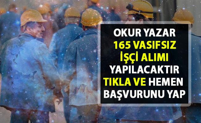 İŞKUR  işçi alımı için yeni iş ilanları yayınladı! 165 Vasıfsız işçi alınacak!..