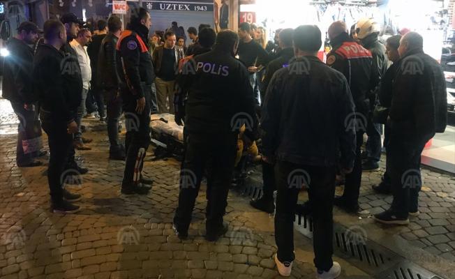 İzmir'in Konak ilçesinde bıçaklama olayı