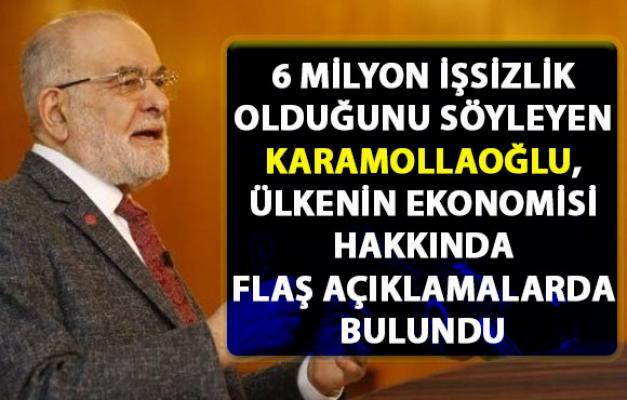 Karamollaoğlu, Türkiye'nin ekonomi durumu hakkında flaş açıklamalarda bulundu