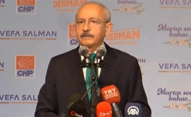 Kılıçdaroğlu, Dini siyasete alet etmemeli ve bunu yasalarla korumalı dedi