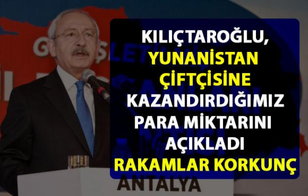 Kılıçdaroğlu, Türkiye'nin ithal ettiği tarım ürünleri hakkında korkunç rakamı açıkladı