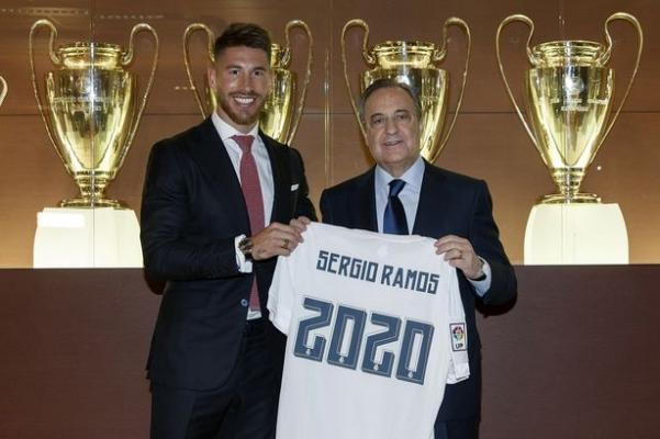 Sergio Ramos, Soyunma Odasında Real Madrid Başkanı Florentino Perez İle Tartıştı: Paraları Verin, Ben Gidiyorum