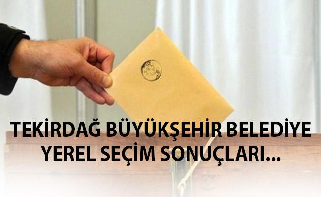 Tekirdağ Yerel Seçim Sonuçları 31 Mart 2019 Tekirdağ Yerel Seçim Sonuçları Oy Oranları