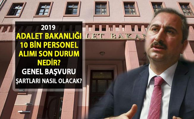 2019 Adalet Bakanlığı İlan Ne Zaman Açıklanacak? Katip, Müşavir, İnfaz Koruma Memuru, CTE Personeli Alımı Ne Zaman Yapılacak?