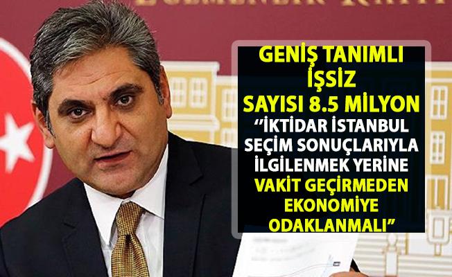 2019 işsizlik oranı ve Erdoğdu'dan büyüyen ekonomik kriz uyarısı