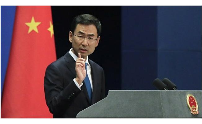 """ABD'nin İran Yaptırımına Karşı Çin Rest Çekti! """"İranlı Şirketlerin Yasal Çıkarlarını Korumak..."""""""