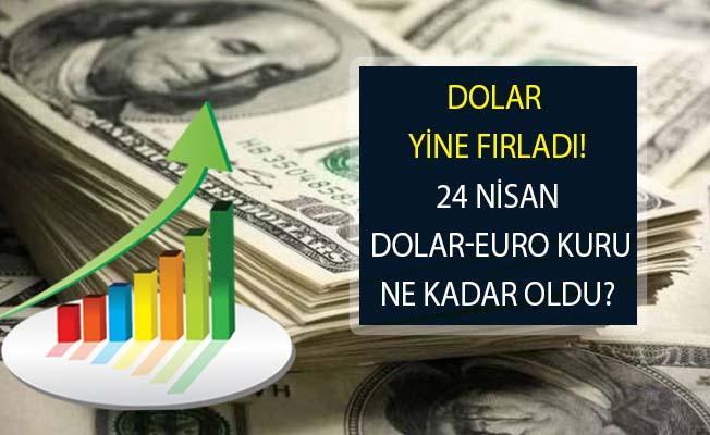 Dolar Yine Yükseldi! 24 Nisan 2019 Son Dakika Dolar Kuru Ne Durumda?