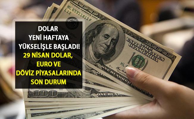 Dolar Yeni Haftaya Hareketli Başladı! İşte 29 Nisan Dolar Kuru ve Döviz Piyasalarındaki Son Durum
