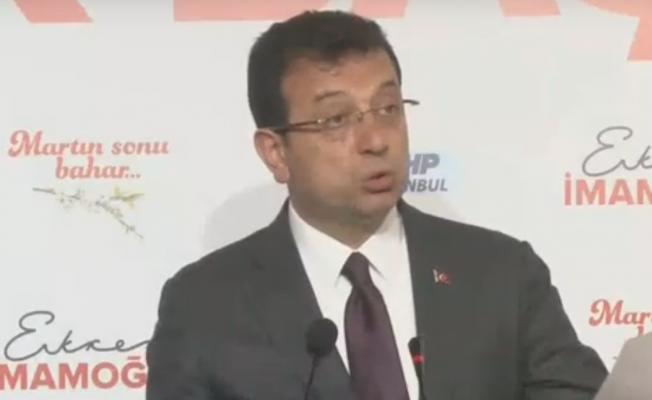 """Ekrem İmamoğlu: """"Türkiye 5 Milyona Doğru Giden İşsiz Sayısına Sahip"""""""