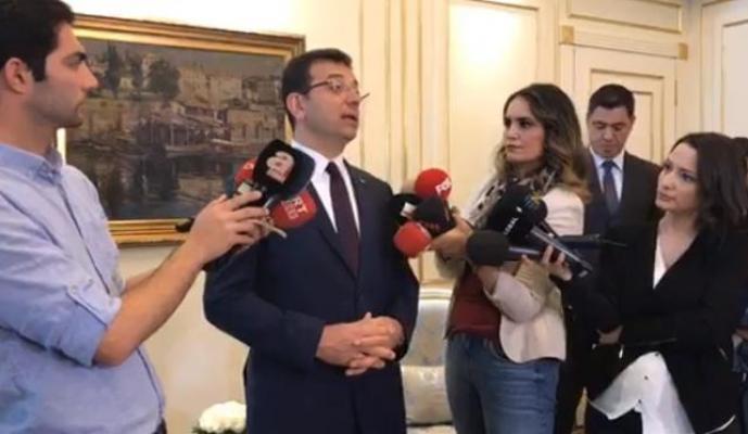Ekrem İmamoğlu Devlet Bahçeli ve Hulisi Akar'ın Açıklamalarına Tepki Gösterdi