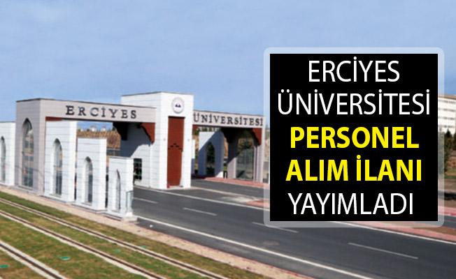 Erciyes Üniversitesi 46 Sağlık Personeli Alımı! Erciyes Üniversitesi 46 Sözleşmeli Sağlık Personeli Alımı Başvurusu Nasıl Yapılır?