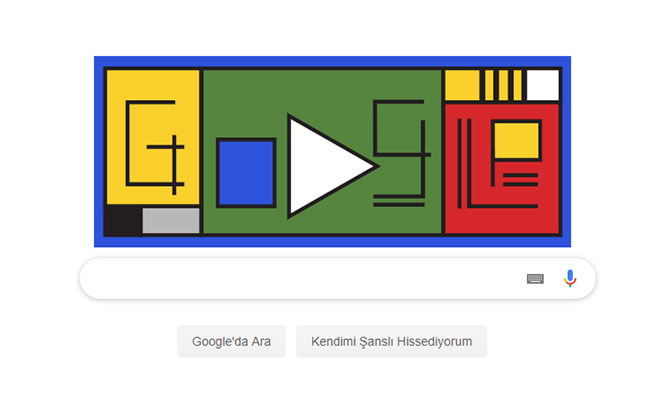 Goole'ın Doodle'ı Bauhaus Nedir? Bauhaus Doodle Oldu! Google Bauhaus Doodle 12 Nisan